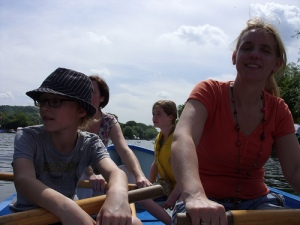 rowing in Henley